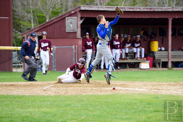 Sports; DIS; GSA; ball; harrison; vinall; 051415; DIS; Deer IsleStonington High School; Eagles; GSA; George Stevens Academy; Mariners; baseball; dishs; game; high school; school; sport; sports; team The Eagles' Harrison Vinall tries to slide home.  Photo by Franklin Brown