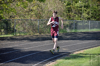 Photo by, Franklin Brown www.franklinbrown.net George Stevens Academy Track and Field Hosted at Bucksport High School May 14, 2015