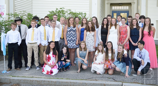 Blue Hill Consolidated School honors the Class of 2015