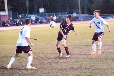 Alex Taylor-Lash attempts a goal