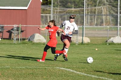 Morgan Dauk prepares to score the 3rd goal for GSA.  Photo by, Franklin Brown