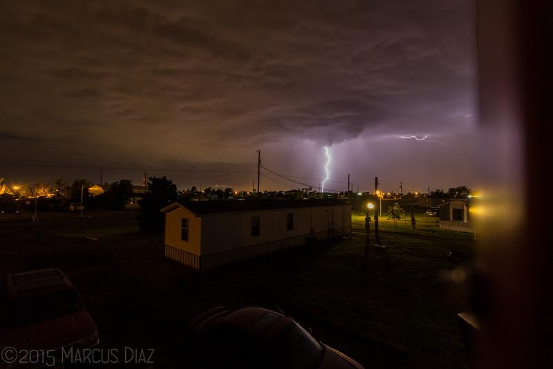 Early morning lightning in Amarillo, TX | June 8