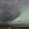 Large HP supercell near Throckmorton, TX | May 8