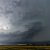 This was the supercell as we saw in on the TX side of the Red River. It was rapidly intensifying at this point.