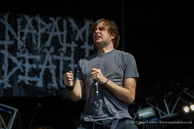 Napalm Death - Bloodstock 2015