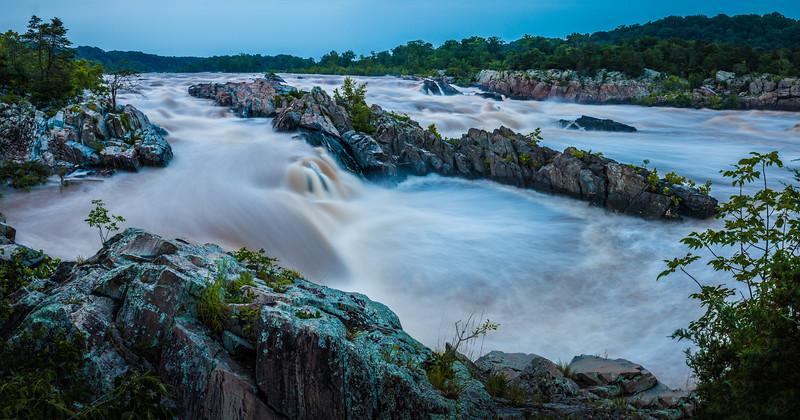 Great Falls Park Panorama