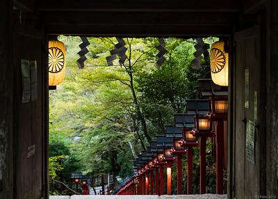 Kibune shrine, Kibune.