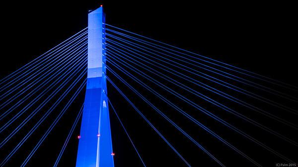 Aomori bridge, Aomori.