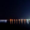 Aomori harbor by night, Aomori.