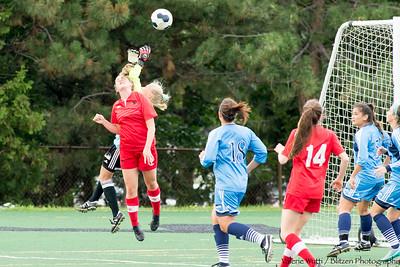 Carleton Women's Soccer plays UQAM in pre-season play.