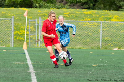 Carleton Women's Soccer plays UQAM in pre-season play.