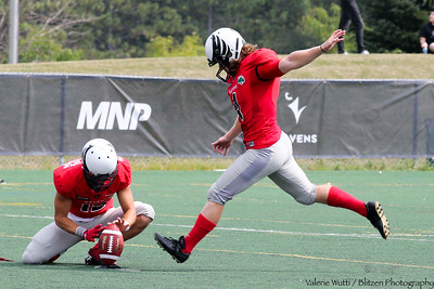 Carleton Ravens open their home season with a lopsided 57-0 win over Waterloo