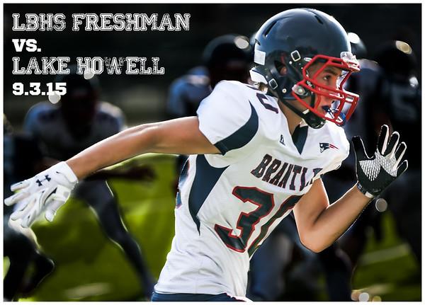 LBHS FR FB vs. Lake Howell - September 3, 2015