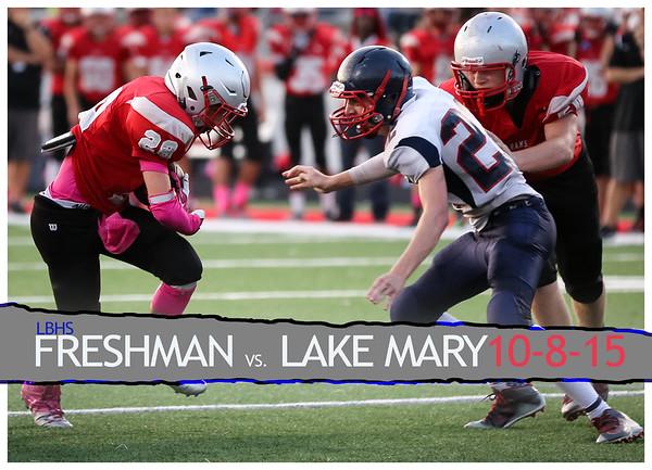 Freshman vs. Lake Mary - October 8, 2015