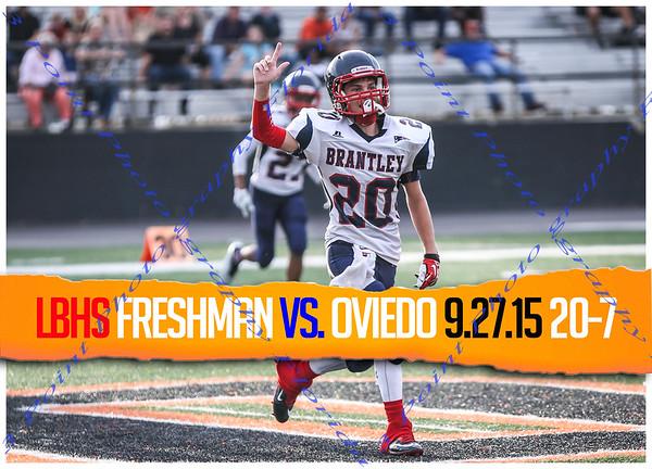 Freshman vs. Oviedo - Aug 27, 2015