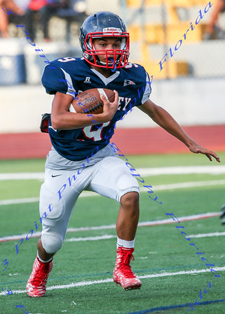 LBHS FB Spring 2016 Blue and White Game