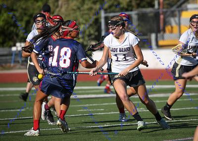 LBHS Girls Lacrosse vs. Winter Springs - April 7, 2016