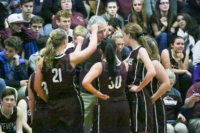 Eagles Coach Bill Case pumps up his team. Photo by Anne Berleant