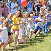Tug-o-war anyone?<br /> Dozens of children, young and old participated in a tug-o-war duruing several events in Castine on July 4th.  Photo by Franklin Brown