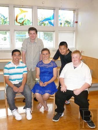Brooklin School 8th Grade Graduation 2016