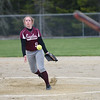 Eagle pitcher Allyson Snow