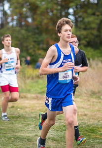 Mariner Ian Cust competed in the unseeded boys section, and placed 178th. Photo by Tate Yoder