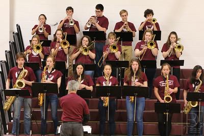 The George Stevens Academy Band