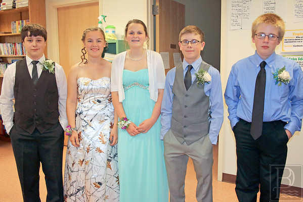 Brooksville Elementary 8th Grade Graduation 2016