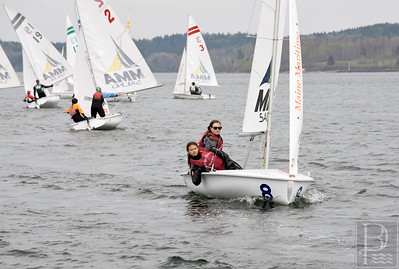 Light winds stifled the 2015 Downeast Regatta. Photo by Franklin Brown