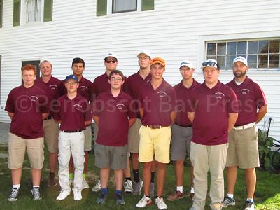 George Stevens Academy varsity golf team
