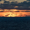 Sunset after departing Aitutaki