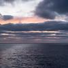 Dawn as we approach Aitutaki - May 26, 2016