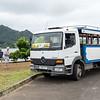 Open air tour bus