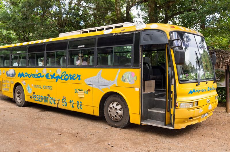 Moorea Explorer - tour bus