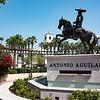 Statue celebrating Don Antonio Aguilar