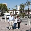 LA guide Jim with Mercedes & Boni