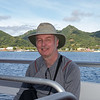 Heading to Rarotonga on the P.G. tender