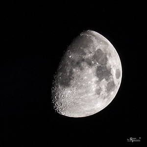 73% illuminated Waxing Gibbous Moon