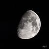73% illuminated Waxing Gibbous Moon