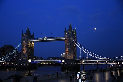 London, after dark!