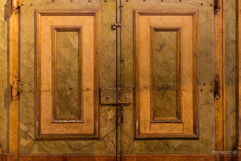 Doors in Church of Sao Roque