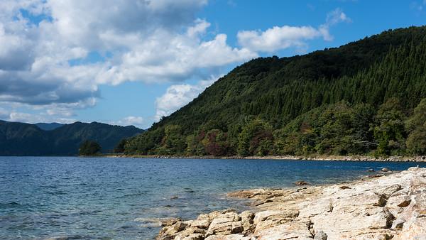Tazawako, Japan's deepest lake, Akita-ken.