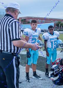LBHS Freshman Football vs. Hagerty - Sept 29, 2016  AWAY