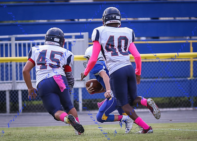 LBHS Freshman Football vs Lyman - Oct 12, 2016