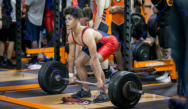 LBHS Boys Weightlifting vs Oviedo - March 7, 2018