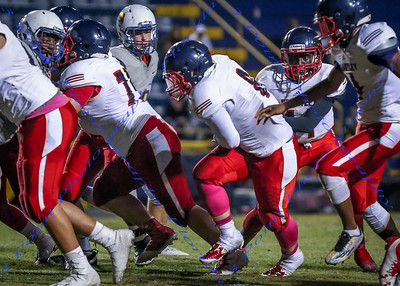 LBHS JV Football vs Lyman - Oct 12, 2016