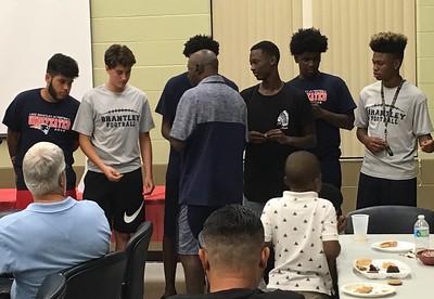 JV Football Banquet - 2016