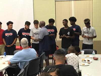 LB JV FB Banquet 2016-2017