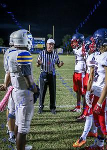 LBHS JV Football vs Lyman - Oct 12, 2016