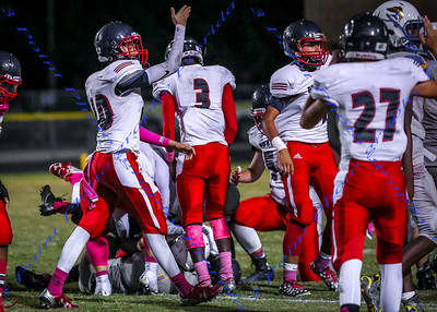 LBHS JV FB vs Lyman - Oct 21, 2016